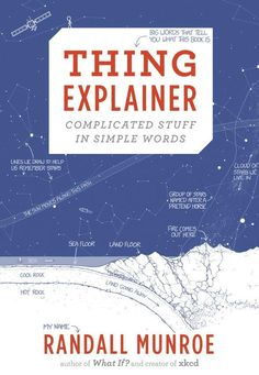 Randall Monroe is back with his signature stick figure comics in his new book Thing Explainer, which aims to -- well -- explain things