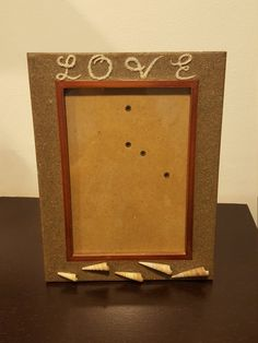 LOVE picture frame $22.95 Visit my Etsy account: NQCrafts
