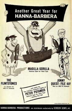 Trade ad for Hanna-Barbera TV Shows (1964)