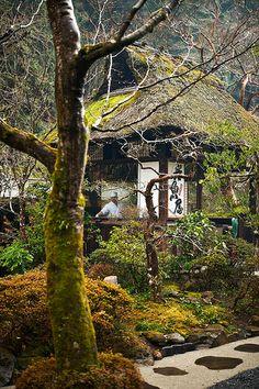 Ukai Toriyama, a famous Yakitori restaurant near Takao, Japan