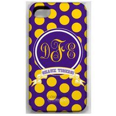 LSU iphone cover
