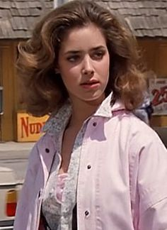 Claudia Wells in Back to the Future