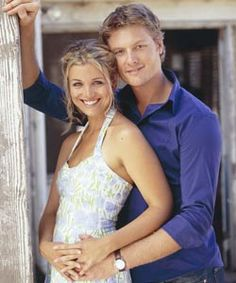 McLeod's Daughters. Michael Pollard and Bridie Carter. Could have a show of their own...   :0)