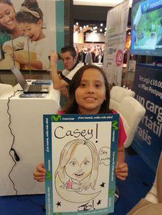 En Mall Paseo Metrópoli :)  #j6ilustraciones #caricatura #costarica