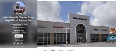 Learn more about Allen Samuels Chrysler Dodge Jeep Ram on Google+. Leave us a review https://plus.google.com/103165204723835476222