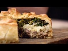 Beef, Potato and Greens Triple Layer Pie - The Fabulous Baker Brothers