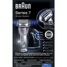 Amazon.com : Braun Series 7- 790cc Pulsonic Shaver System, Silver : Electric Foil Shavers : Beauty