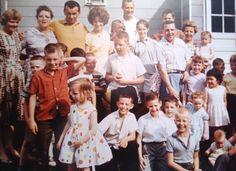 Lynch family gathering 1960