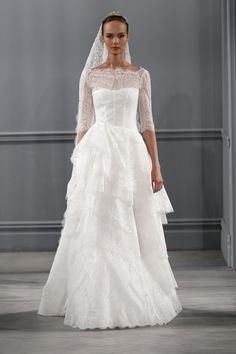 Monique Lhuillier vestidos coleccion 2014 - Monaco