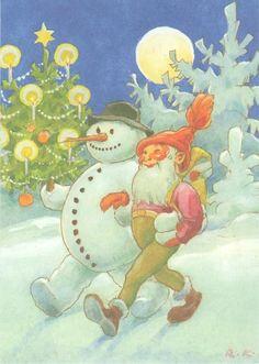 Rudolf Koivu / Finnish Christmas card