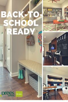 Get your home back to school ready.
