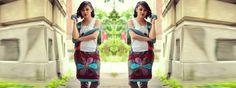 Geanta de umar cu model din petice - FLOARE Handmade Bags, Nepal, Skirts, Model, Fashion, Green, Moda, Handmade Handbags, Skirt