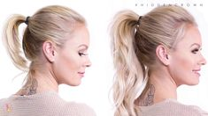How To: Perfect Ponytail | Hidden Crown