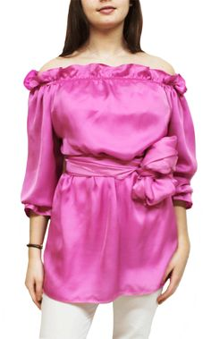 blusones de seda y vestidos Julunggul Hecho en España www.julunggul.com
