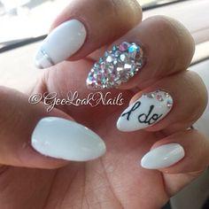 wedding nails i do