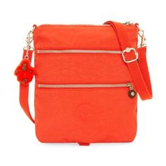 Kipling Rizzi Convertible Mini Bag (565 MXN) ❤ liked on Polyvore featuring bags, handbags, wild red, mini crossbody bag, red crossbody handbags, red crossbody purse, red purse and mini crossbody handbags