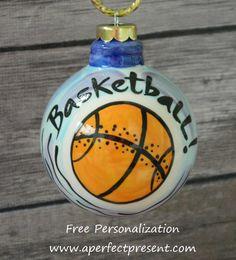 Basketball Ornament