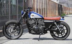 Harley Davidson #motorcycles #bratstyle #motos | caferacerpasion.com
