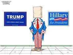 Bob Gorrell (2016-07-12) USA: tr, Hillary Clinton