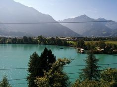 Another view in Interlaken. The landscape of the beautiful city is different and yet gorgeous everywhere Anisha looks.
