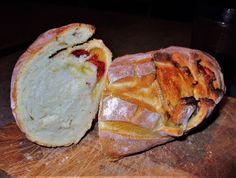 FORNELLI IN FIAMME: STUFFED HOMEMADE BREAD (VEGAN DISH)