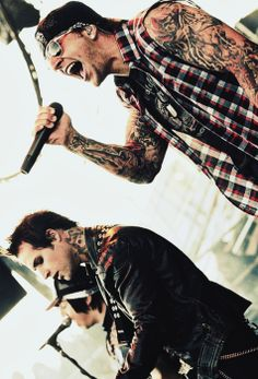 M Shadows, Johnny Christ and Zacky Vengeance ~ Avenged Sevenfold