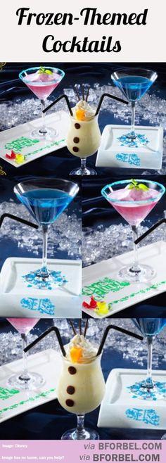 Frozen Themed Cocktails… | B for Bel