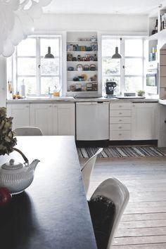 The home of a Danish interior designer
