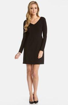 Karen Kane Long Sleeve Jersey Dress available at #Nordstrom