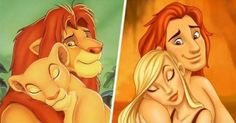 What if cartoon characters were human beings? Which transformations are the funniest?