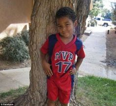 Just a child: Omaree was only nine years old when he was found dead in his Alburquerque home in December