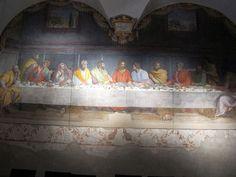Alessandro Allori del Bronzino (Italia, 1535-1607). The Last Supper.