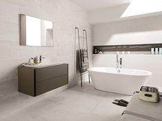 Ceramic Wall Tiles Newport White and Old White; STON-KER™ floor tiles Newport White