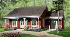 Proiecte de casa fara etaj - Casa și Grădina