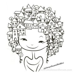 Revista Vida simples colorir adult coloring pages Paris bike MyKingList com is part of Easy drawings - Adult Coloring Pages, Colouring Pages, Coloring Books, Doodle Drawings, Doodle Art, Easy Drawings, World Girls Day, Drawing For Kids, Art For Kids