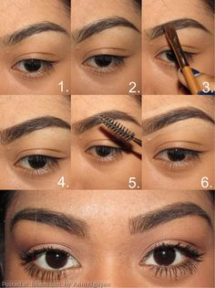 Getting bold natural looking brows By Anni Nguyen. #brows #eyebrows #eyebrow #howto #valentinesday #statement #winter #brow101 @Bloom.com