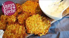 Gemüsepuffer - Thermomix - Rezept von Vanys Küche Cornbread, Mashed Potatoes, Cauliflower, Vegetables, Breakfast, Ethnic Recipes, Youtube, Food, Baby