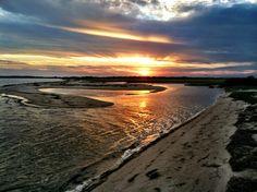 Fall Sunset on Coatue