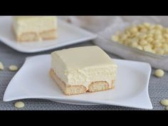 Koláč ako zmrzlina. Nebudete schopní prestať jesť. - YouTube Cream Cake, Ice Cream, Baking Recipes, Dessert Recipes, Cheesecake, Kolaci I Torte, Stop Eating, No Bake Cake, Chocolate Cake