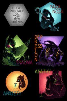 Fearlings: the Nightmares by GraphiteDoll.deviantart.com on @deviantART