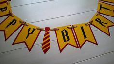 Harry Potter feliz cumpleaños Banner Harry Potter fiesta