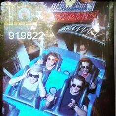 Ginny, Josh, Lana & Fred in Disneyland (via ireallydontcareofyou on tumblr)
