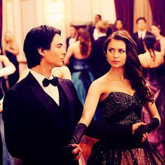 Image in The Vampire Diaries  collection by Delena