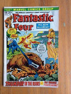 Fantastic Four Vol 1 #118 & #121