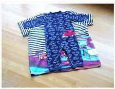 reciclando camiseta c/ zipper fundilho.