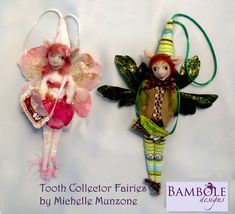 E-Pattern TOOTH FAIRY DOLL for boys & girls Height 23 cm