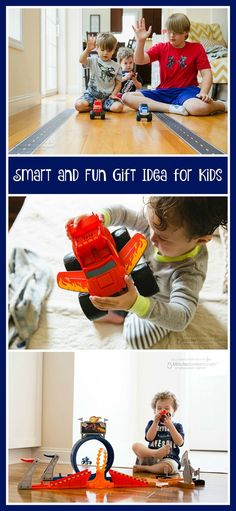 Smart and fun gift idea for kids. Sponsored.