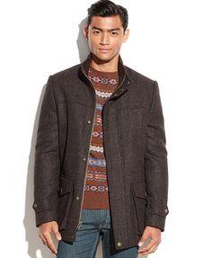 Vince Camuto Shetland Wool Car Coat