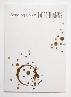 Sending you a latte thanks