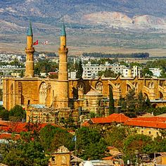Nicosia, Cyprus Nicosia Cyprus, Taj Mahal, Travelling, World, Building, Cathedrals, Europe, Buildings, The World